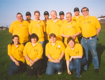 Yellow Shirts at Cult TV 2003