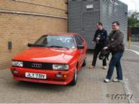Dave and Mark fire up the Quattro!